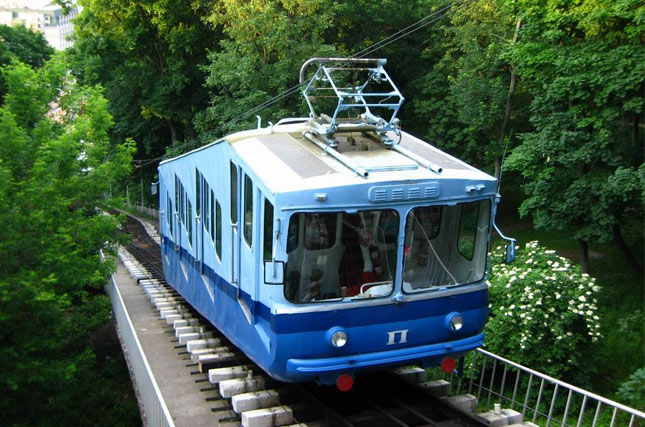 Funicular  in Kyiv